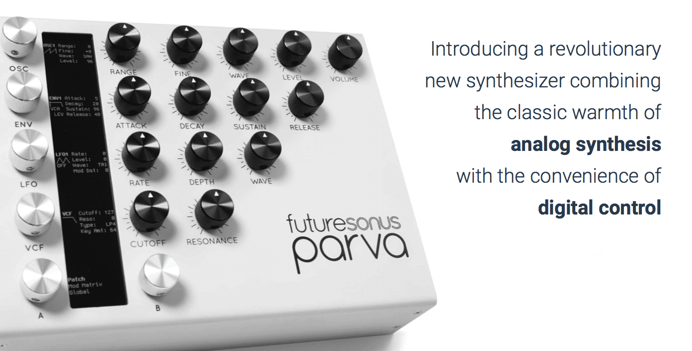 Test: Futuresonus Parva, Analog Synthesizer - AMAZONA.de