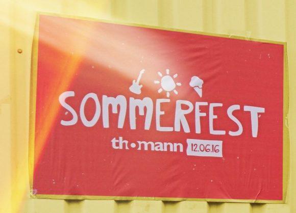 Thomann-Sommerfest-Plakat