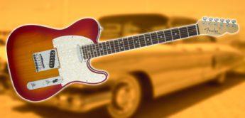 Test: Fender AM Elite Telecaster MN ACB E- Gitarre