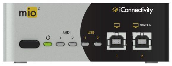 iConnectivity mio2 front