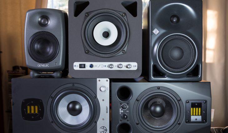vergleichstest nahfeldmonitore genelec ks digital eve audio neumann adam audio