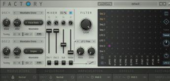 Test: Sugar Bytes Factory, Software-Synthesizer