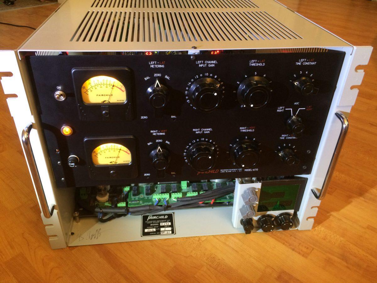 Fairchild-670-Frontplatte