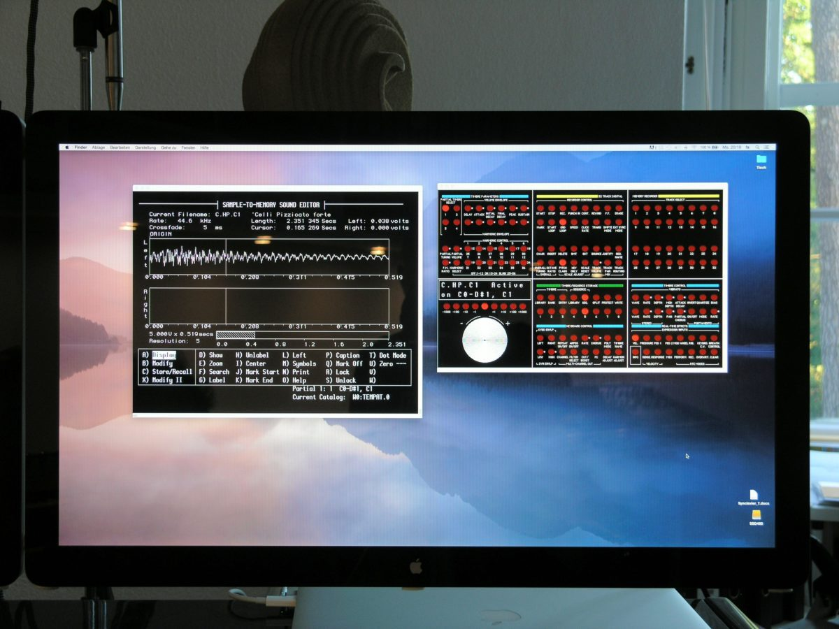 So einfach ist das! Terminalprogramm mit Anbindung via RS323 to USB to Thunderbolt.