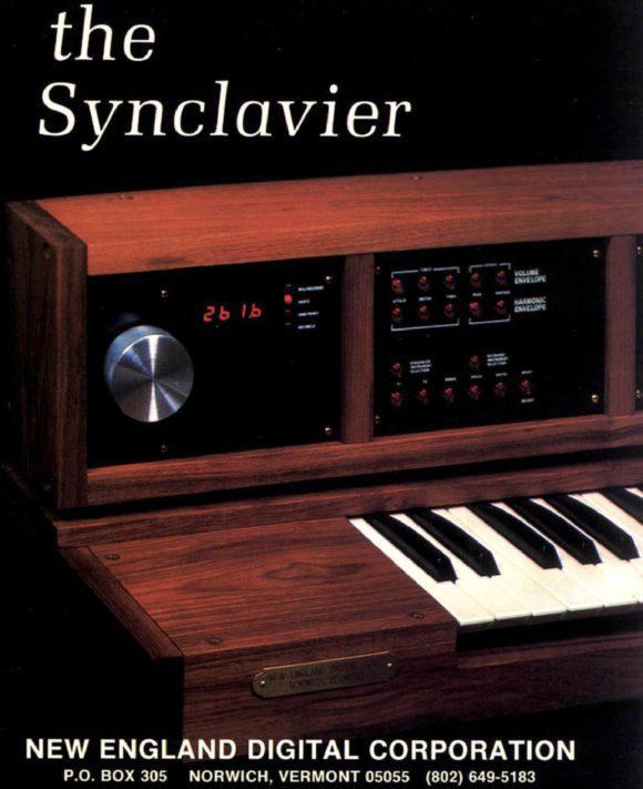 """""""The Synclavier"""" is born! Das Produktdesign mutet auch im Jahre 1976 eher """"Good Old England Digital"""" an, oder gar """"victorian..."""""""