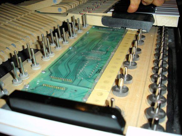 V_PK Tastaturmechanik Detail