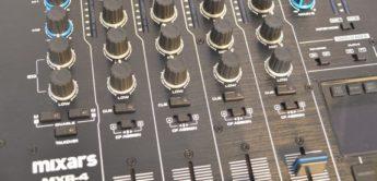 Test: Mixars MXR-4, DJ-Mixer