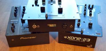 Vergleichstest: 2-Kanal DJ-Mixer: Allen&Heath Xone:23, Pioneer DJM-350, Reloop RMX-22i