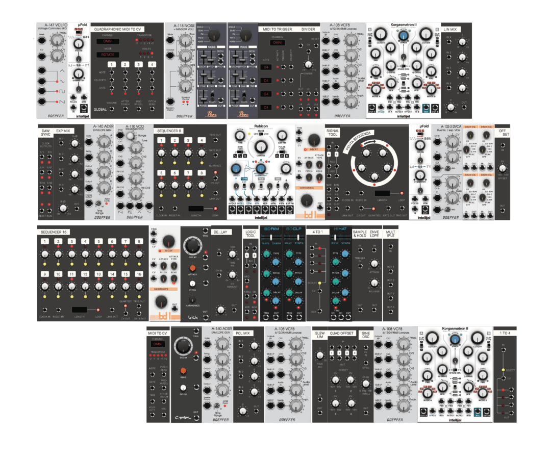 Softube Modular All Modules