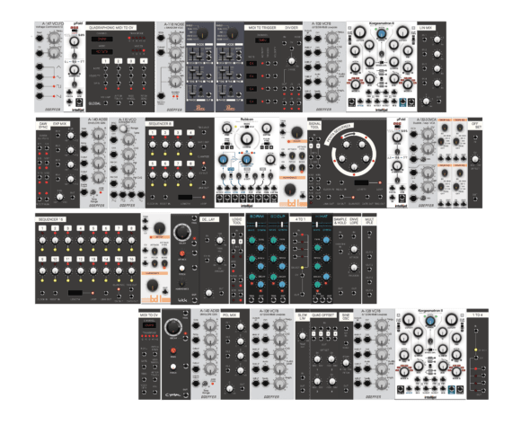 Softube Modular All Modules