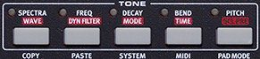 Tone Section