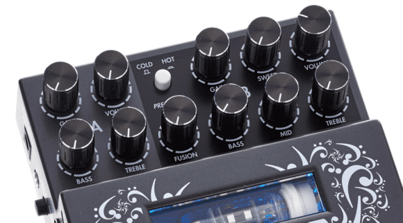 -- Two Notes Le Bass Dual Channel Preamp - Bedienfeld --
