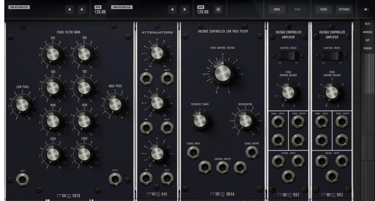 Moog Model 15 iOS