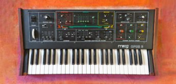 Blue Box: Moog Opus 3, Analoger Ensemble-Synthesizer