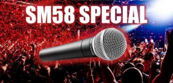 Gesangsmikrofon Shure SM58 – alles zur Legende