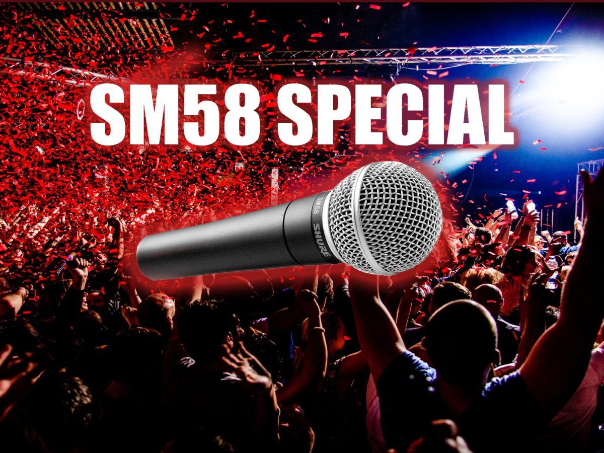 Gesangsmikrofon Shure SM58