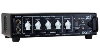 Test: Peavey MiniMAX, Verstärkertopteil für Bass
