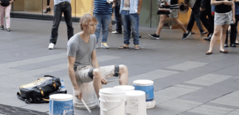 Das etwas andere Drum Solo