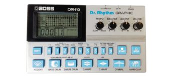 Black Box: BOSS DR-110 Dr. Rhythm, Analog-Drumcomputer