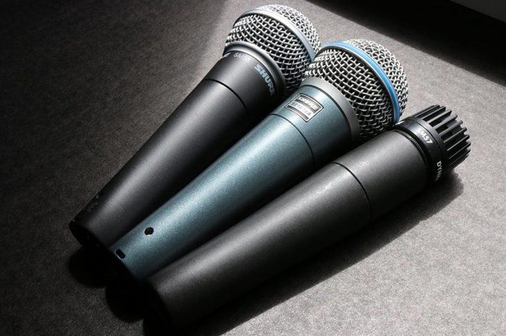 Shure SM58 Gesangsmikrofon