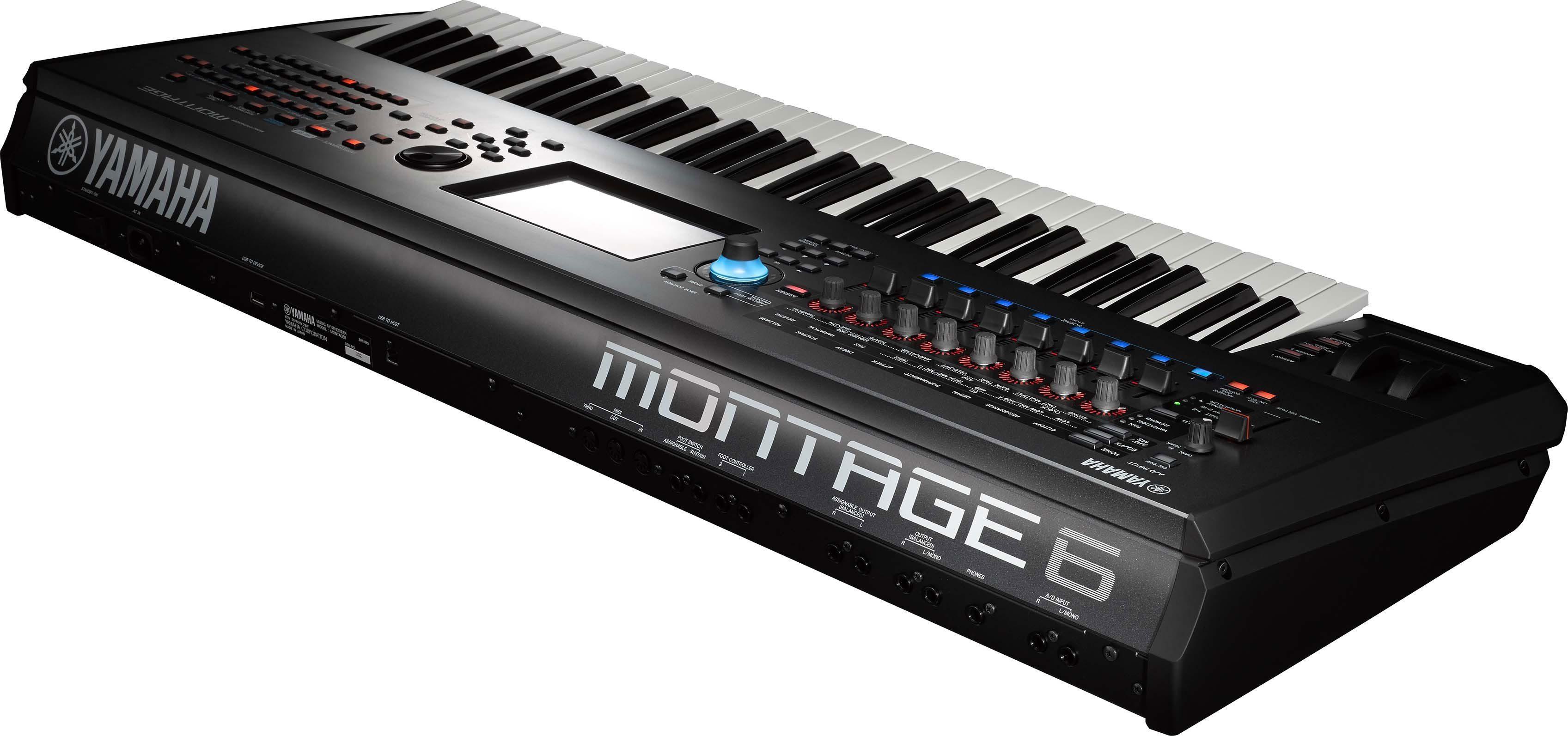 Test yamaha montage synthesizer teil 1 seite 2 von 7 for Yamaha montage 8