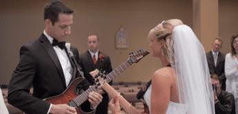 Fun: Hochzeitsmarsch auf der Gitarre