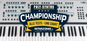Championship: Die besten polyphonen Synthesizer Keyboards
