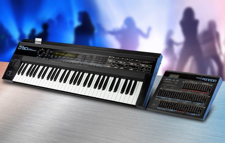 Roland D-50, D-550 und PG-1000