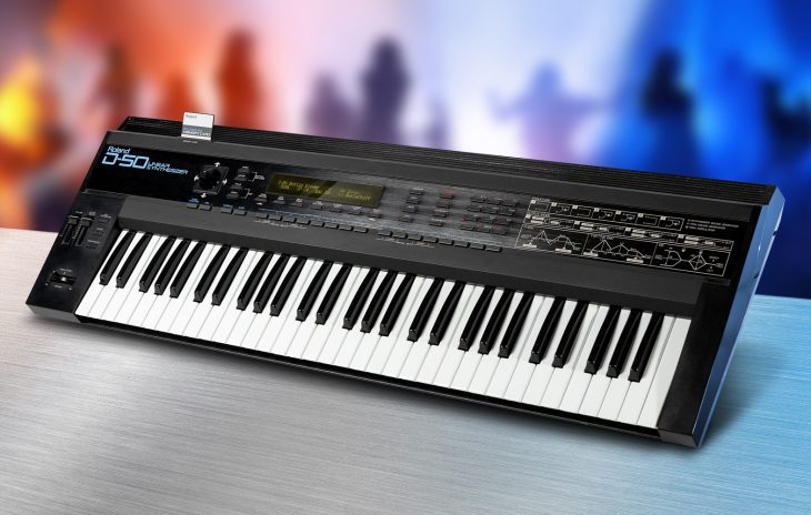 Green Box: Roland D-50, D-550 Synthesizer (1987)