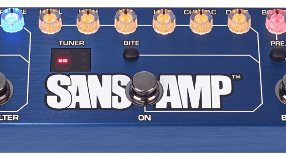Tech 21 Bass Fly Rig: Sansamp-Einheit.