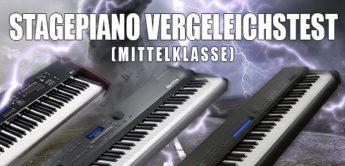 Vergleichstest: Kawai MP-7, Kurzweil Artis SE, Yamaha CP40, Stagepianos