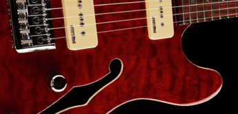 Test: Harley Benton TE-90QM Trans Red, E-Gitarre