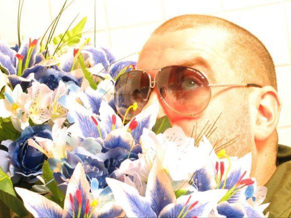 Ingmar mit Flower-Power 2004 (Bild: Markus Schulze)