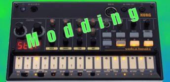 Workshop: Korg Volca Beats Modding, Rhythm Machine