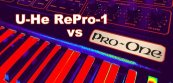 U-He RePro-1 vs Sequential Pro-One Audiovergleich