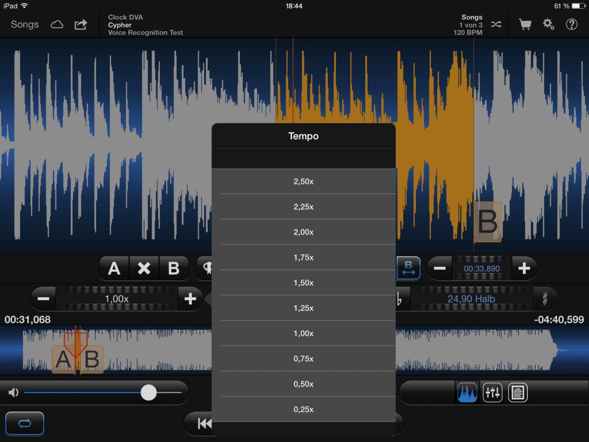 iOS Apps für Beats