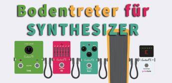 Praxis-Report: Bodentreter und Pedale für Synthesizer