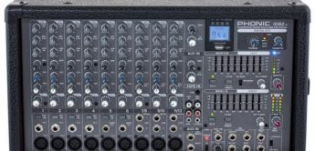 Test: Phonic Powerpod 1082r, Powermixer