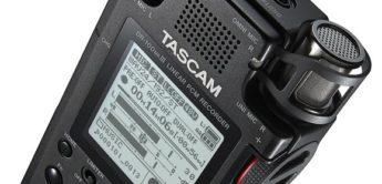 Test: Tascam DR-100 Mk3, Mobiler Recorder