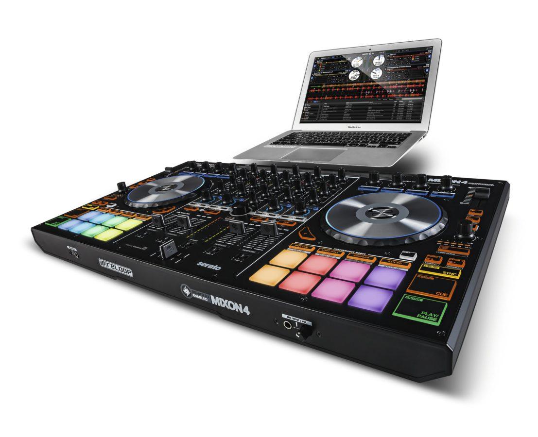 Nicht nur Djay-App, sondern auch für Serato DJ ist der Mixon 4 ausgelegt