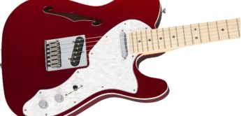 Test: Fender Deluxe Tele Thinline CAR, E-Gitarre