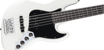 Test: Fender Deluxe Active Jazz Bass V OWT, E-Bass