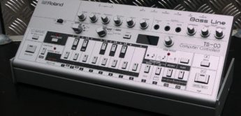 Test: Roland TB-03 Bass Line, Bass Synthesizer