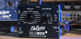 Test: BluGuitar BluBox VSC, Speakersimulator