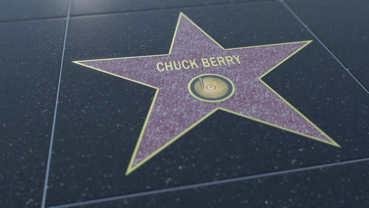 Chuck Berry walk of fame