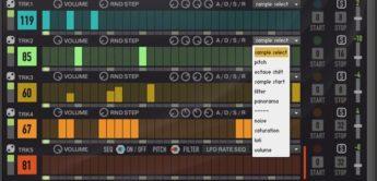 Test: Sturmsounds-Electro Turner MK2, Drum-Sequencer