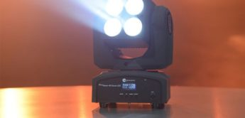 Test: Fun Generation PicoWash 40 Quad LED, Moving Head