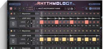 Test: Sample Logic Rhythmology, Software Instrument