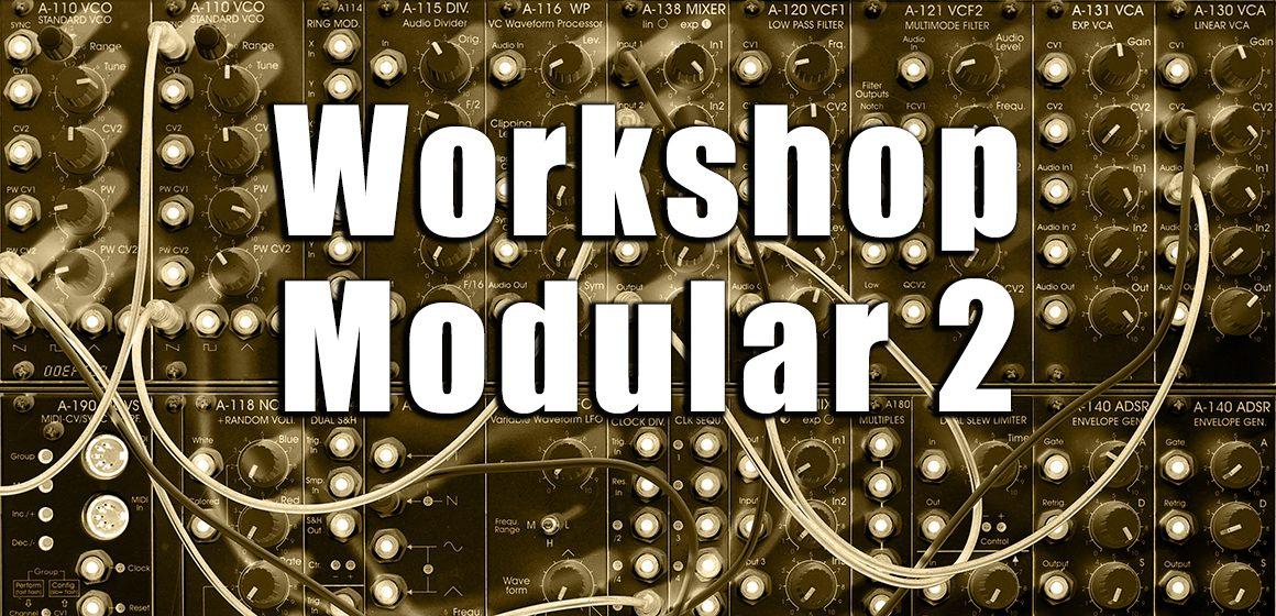 5f7cf043f1e013 Workshop Modular Synthesizer: Famous Vintage Filter - AMAZONA.de