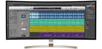 Test: LG 38UC99 Mega-Wide Screen für Musikstudio